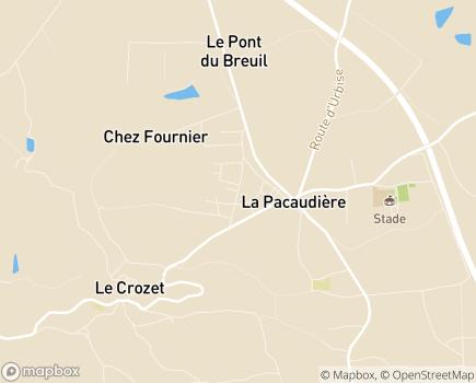 Localisation Accueil de Jour l'Arbre aux Papillons - 42310 - La Pacaudière