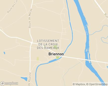 Localisation EHPAD La Joie de Vivre - 42720 - Briennon