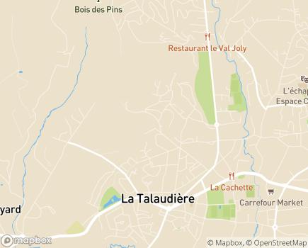 Localisation EHPAD Résidence La Talaudière - 42350 - La Talaudière