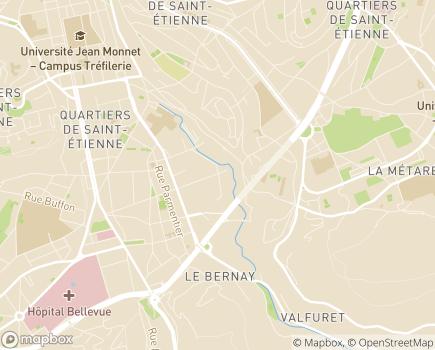 Localisation AREPSHA Autonomia - 42100 - Saint-Étienne