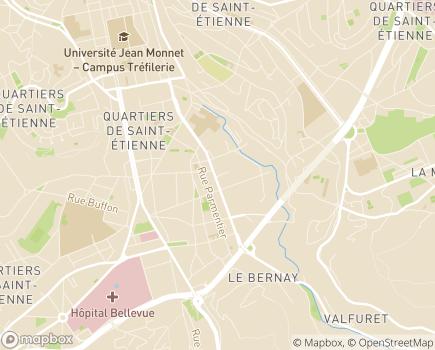 Localisation Association IMCP Loire - Association Départementale des Infirmes Moteurs Cérébraux et Polyhandicapés - 42100 - Saint-Étienne