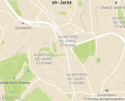 Localisation APF France Handicap - Délégation de la Loire - 42000 - Saint-Étienne