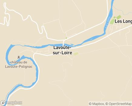 Localisation EHPAD Foyer Notre-Dame - 43800 - Beaulieu