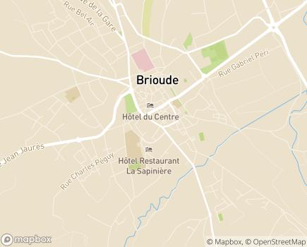 Localisation Résidences Saint-Dominique - 43100 - Brioude