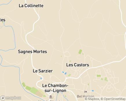 Localisation Korian - Clinique Le Haut Lignon - 43400 - Le Chambon-sur-Lignon