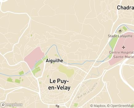 Localisation Centre de Soins de Suite et de Réadaptation de Jalavoux - 43000 - Aiguilhe