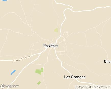Localisation Centre de Soins de Suite et de Réadaptation Saint-Joseph - 43800 - Rosières