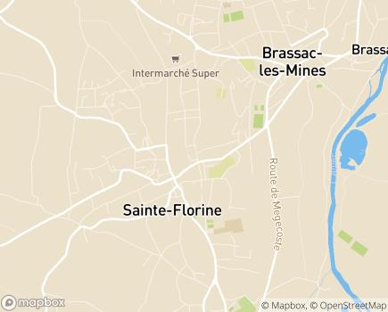Localisation EHPAD Sainte-Florine - 43250 - Sainte-Florine