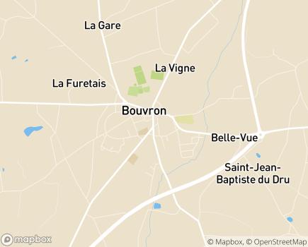 Localisation EHPAD Isac de Rohan/Site Bleu Océan - 44130 - Blain