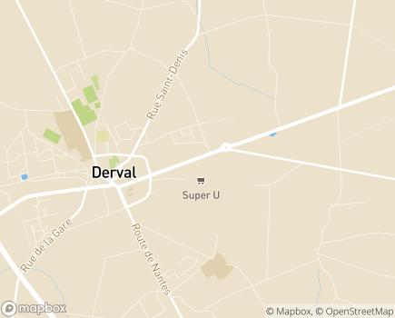 Localisation EHPAD Le Val d'Emilie - 44590 - Derval