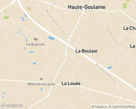 Localisation EHPAD La Lande Saint Martin - 44115 - Haute-Goulaine