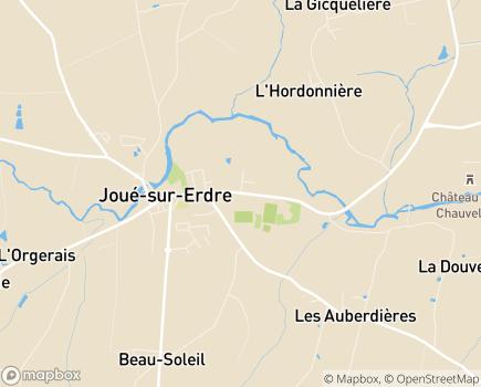 Localisation EHPAD Résidence du Bocage Maison de Retraite - 44440 - Joué-sur-Erdre