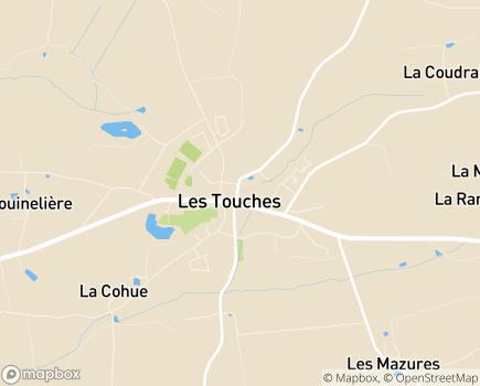 Localisation Résidence Retraite Saint-Joseph EHPAD - 44390 - Les Touches