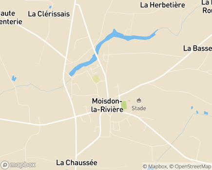 Localisation EHPAD Notre-Dame du Don - 44520 - Moisdon-la-Rivière