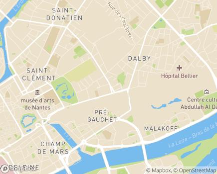 Localisation FMH Fédération des Malades et Handicapés - 44000 - Nantes