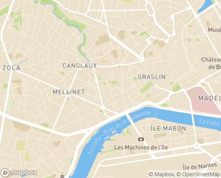 Localisation France Alzheimer Loire-Atlantique - 44200 - Nantes