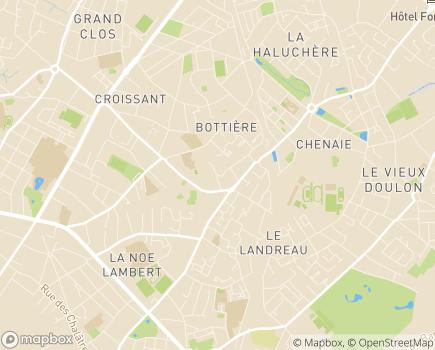Localisation Internat de Semaine - 44300 - Nantes