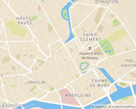 Localisation Institut d'Education Motrice La Marrière - 44319 - Nantes