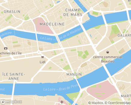 Localisation Adoma Résidence Les Fonderies - 44200 - Nantes