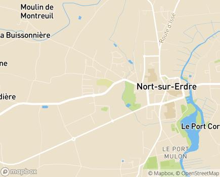 Localisation Résidence Le Bois Fleuri - 44390 - Nort-sur-Erdre