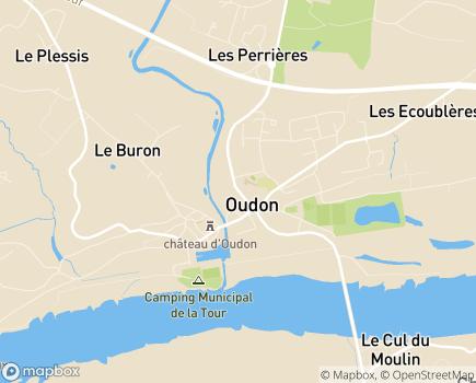 Localisation EHPAD Résidence du Havre - 44521 - Oudon