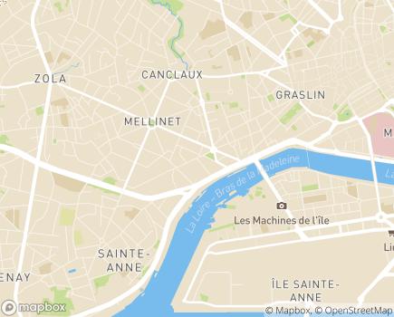 Localisation Emera - EHPAD Océane - 44100 - Nantes