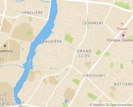 Localisation Résidence Les Magnolias - 44300 - Nantes