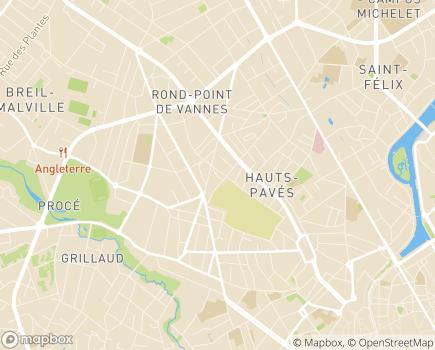 Localisation CADA Adoma Nantes - 44000 - Nantes