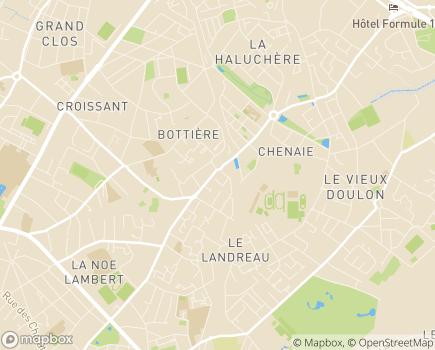 Localisation Korian Bois Robillard - 44000 - Nantes