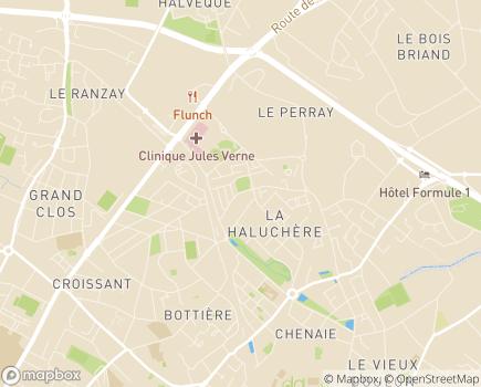 Localisation Sauvegarde de l'Enfance 44 Pôle Jules Verne - 44300 - Nantes