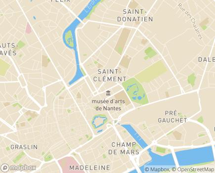 Localisation Les Jardins d'Arcadie Nantes - 44000 - Nantes