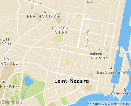 Localisation ADHAP - 44600 - Saint-Nazaire