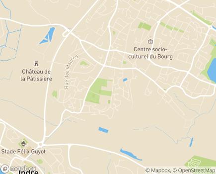 Localisation FEHAP Pays de la Loire - 44807 - Saint-Herblain