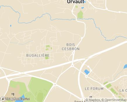 Localisation FNEHAD Pays de la Loire - 44703 - Orvault