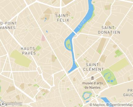 Localisation MECS L'Oasis, Association Horizon Jeunesse - 44005 - Nantes