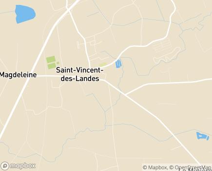 Localisation Résidence Seniors Vallée du Cône - Résidences avec Services - 44590 - Saint-Vincent-des-Landes