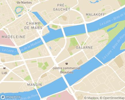 Localisation EHPAD Résidence Ile de Nantes - 44000 - Nantes