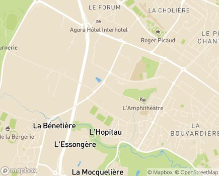 Localisation Espace et Vie Saint Herblain, Résidence avec Services - 44800 - Saint-Herblain