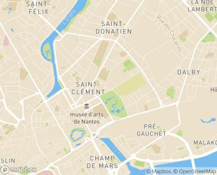 Localisation EHPAD Maison de Retraite La Grande Providence - 44000 - Nantes