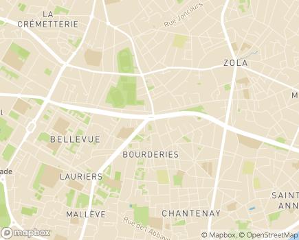 Localisation Résidence avec Services Les Girandières - 44100 - Nantes