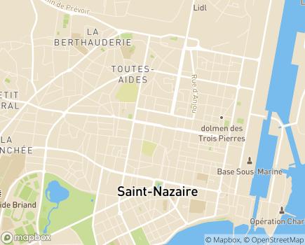 Localisation Capvie Saint-Nazaire - 44600 - Saint-Nazaire