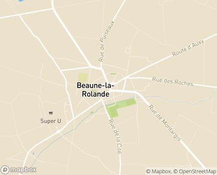 Localisation EHPAD Centre Hospitalier Paul Cabanis - 45340 - Beaune-la-Rolande