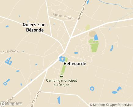 Localisation EHPAD Quiétude - 45270 - Bellegarde