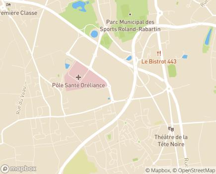 Localisation ASSAD HAD - Antenne HAD d'Orléans (45) - 45380 - La Chapelle-Saint-Mesmin