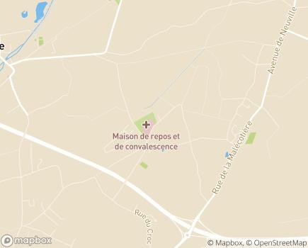 Localisation Centre de Soins de Suite Les Sablons SAMEC  Etablissement associatif - 45430 - Chécy