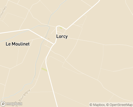Localisation Hostellerie du Château EHPAD - 45490 - Lorcy