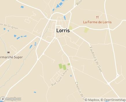 Localisation La Résidence d'Émilie - 45260 - Lorris