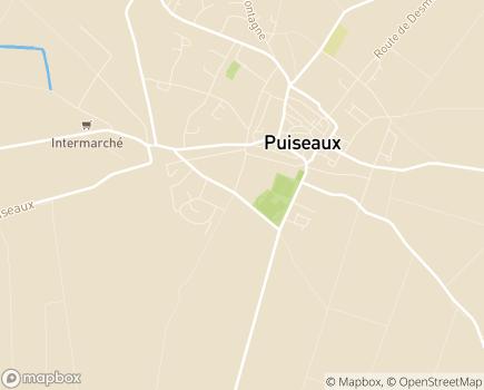 Localisation EHPAD Résidence du Parc - 45390 - Puiseaux