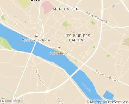 Localisation Centre Médico-Psychologique Adultes - 45500 - Gien