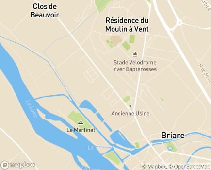 Localisation Le Cercle des Ages - 45250 - Briare